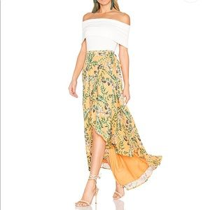 House of Harlow x Revolve Wrap Midi Skirt - XS